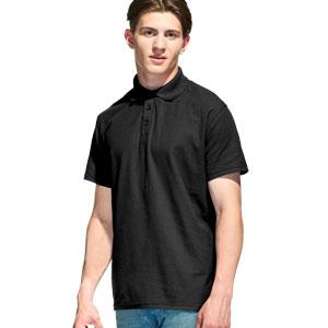 Рубашка поло мужская 04 Stan Premier цвет 20 Черный black