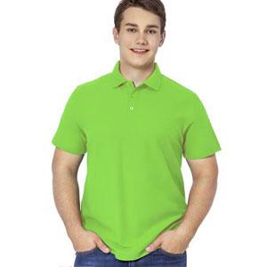 Рубашка поло мужская 04 Stan Premier цвет 26 Ярко-зеленый bright-green