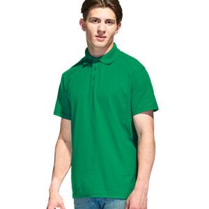 Рубашка поло мужская 04 Stan Premier цвет 30 Зеленый green
