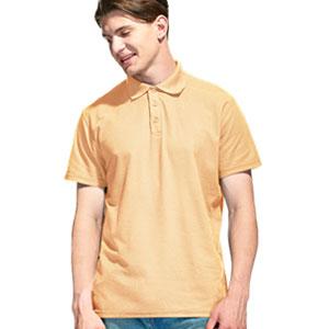Рубашка поло мужская 04 Stan Premier цвет 54 Бежевый