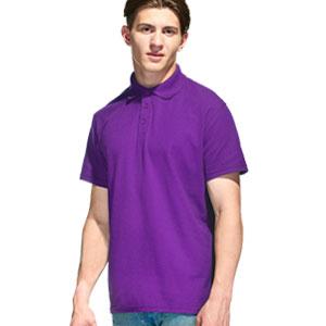 Рубашка поло мужская 04 Stan Premier цвет 94 Фиолетовый purple