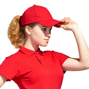Бейсболка промо летняя однотонная Stan 10U StanLight цвет 14 Красный red