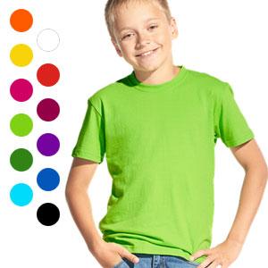 Футболка однотонная детская 06 Stan Kids без рисунков и надписей