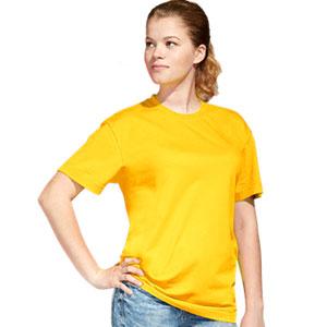 Футболка однотонная унисекс 51 StanAction цвет 12 Желтый yellow