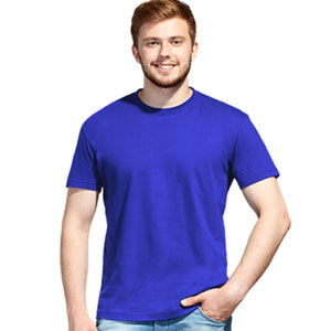 Футболка однотонная унисекс 51 StanAction цвет 14 Синий blue