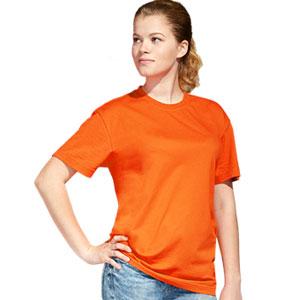 Футболка однотонная унисекс 51 StanAction цвет 28 Оранжевый orange