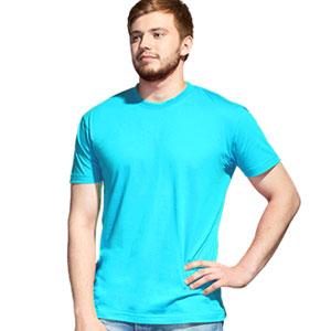 Футболка однотонная унисекс 51 StanAction цвет 32 Бирюзовый turquoise