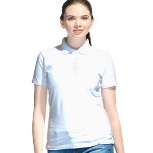 Рубашка поло женская 04 Stan Women цвет 10 Белый white
