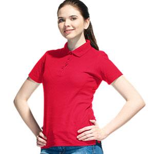 Рубашка поло женская 04 Stan Women цвет 14 Красный red