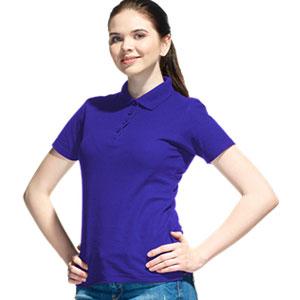 Рубашка поло женская 04 Stan Women цвет 14 Синий blue