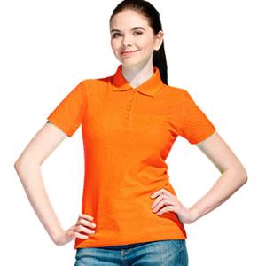 Рубашка поло женская 04 Stan Women цвет 28 Оранжевый orange