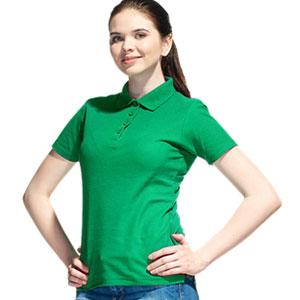 Рубашка поло женская 04 Stan Women цвет 30 Зеленый green