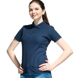 Рубашка поло женская 04 Stan Women цвет 46 Темно-синий dark blue