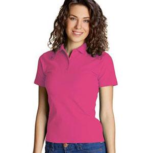 Рубашка поло женская 04 Stan Women цвет 48 Темно-розовый dark pink