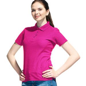 Рубашка поло женская 04 Stan Women цвет 92 Маджента