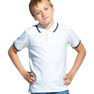 Рубашка поло детская 04TJ Stan Trophy Junior цвет: 10 Белый