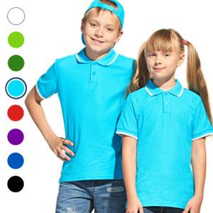 Рубашка поло детская 04TJ Stan Trophy Junior под нанесение логотипа