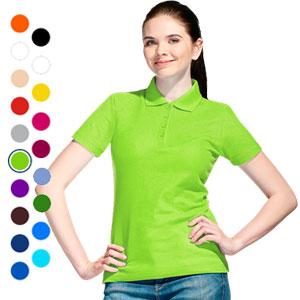 Рубашка поло женская 04 Stan Women под нанесение логотипа