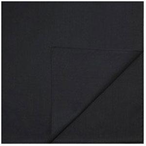 Однотонные банданы на голову платки-косынки с логотипом на заказ цвет Черный black